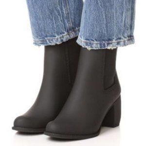 Jeffrey Campbell Clima Block Heel Rain Boot